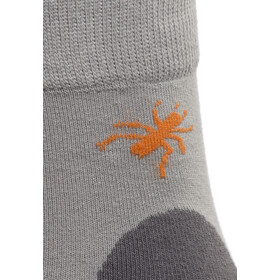 axant Trekking Chaussettes Pack de 3 Enfant, grey-orange